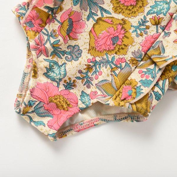 MISHA Kinder Badeanzug Blumen 7