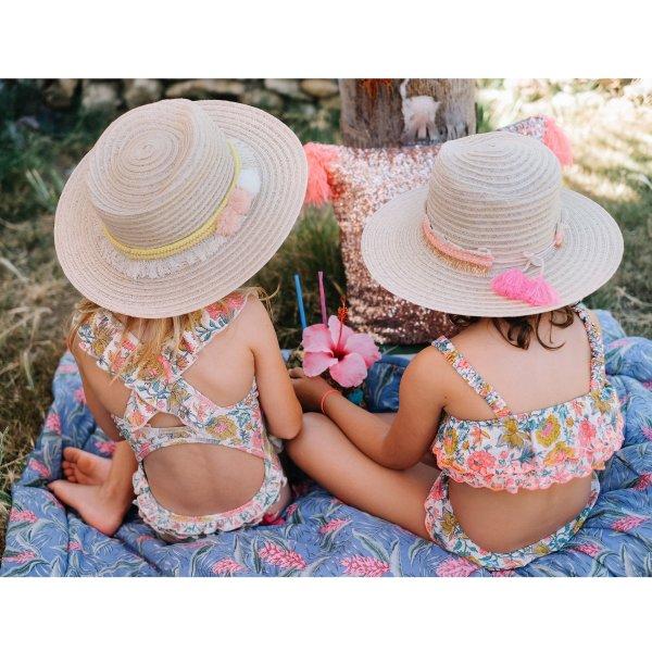 MISHA Kinder Badeanzug Blumen 2