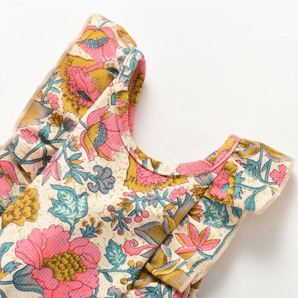 MISHA Kinder Badeanzug Blumen 3