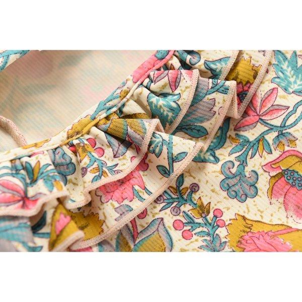 MISHA Kinder Badeanzug Blumen 4
