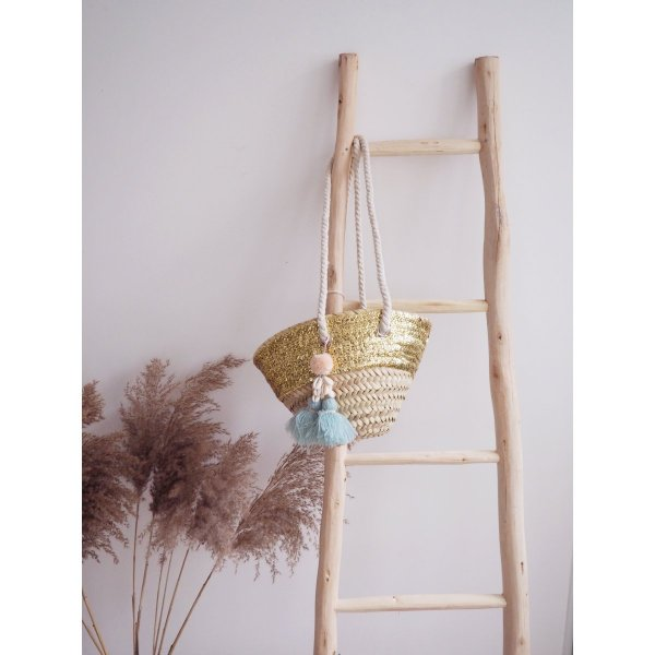 LOUISE MISHA Home, Basket Anitea, Almond