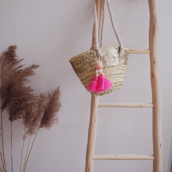 LOUISE MISHA Home, Basket Anitea, Fluo Pink