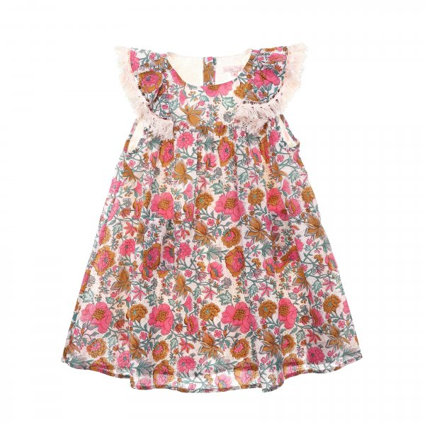 Louise Misha multi flower bohoo dress Costa