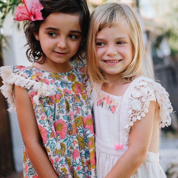 Louise Misha multi flower bohoo dress Costa 1