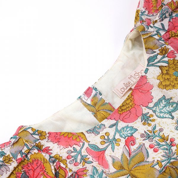 Louise Misha multi flower bohoo dress