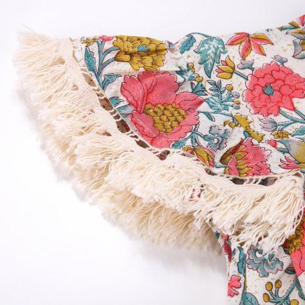Louise Misha multi flower bohoo dress Costa 2