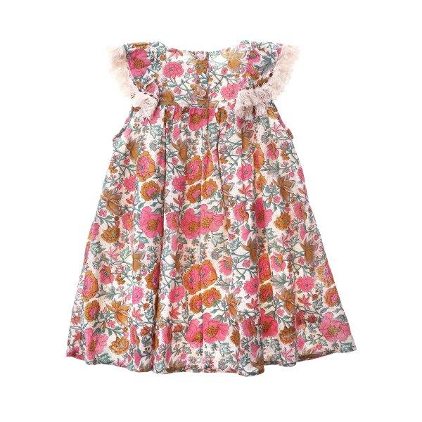 Louise Misha multi flower bohoo dress Costa 3