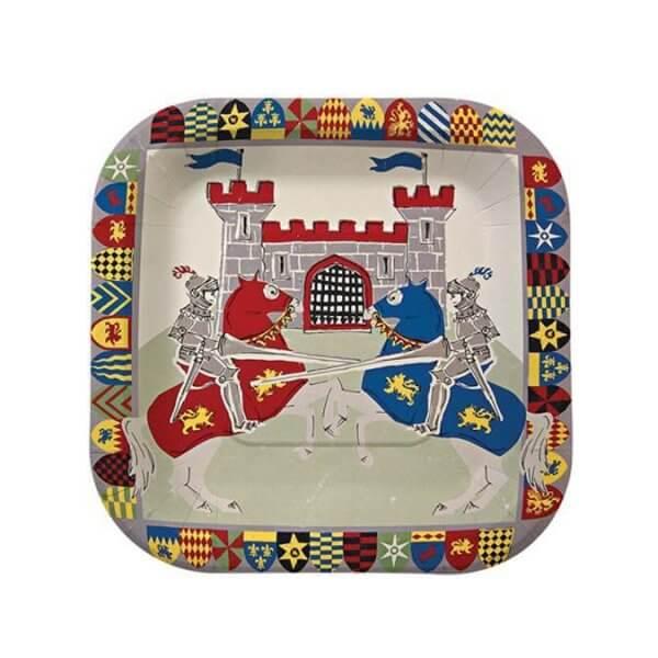 meri-meri-paper-plate-brave-knights
