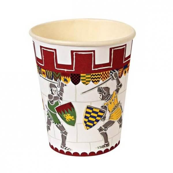 meri-meri-paper-cups-brave-knights