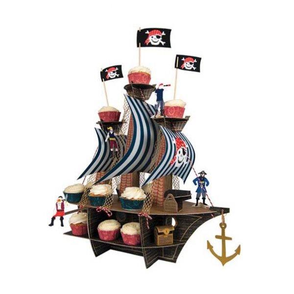 MERI MERI Ahoy there!, Piraten Tischdekoration für Gebäck