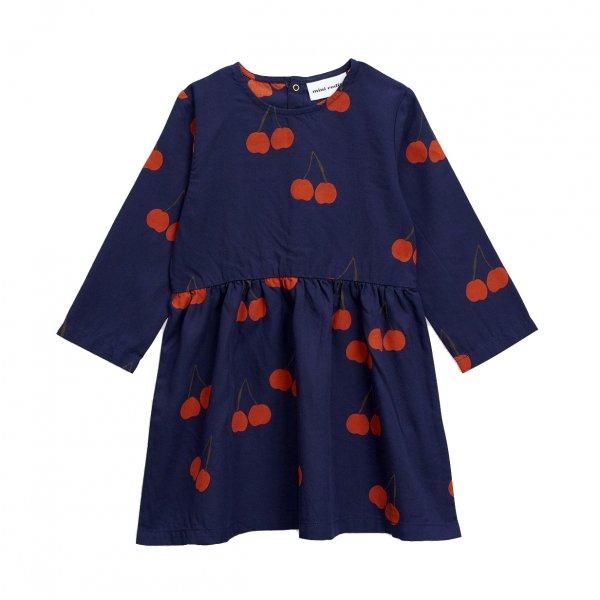 mini-rodini-blaues-Kleid-Kirschen