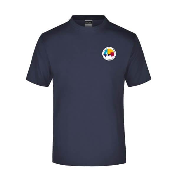 t-shirt-MSF-navy