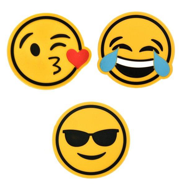leichter Rucksack militärgrün Schule Anstecker Emoji