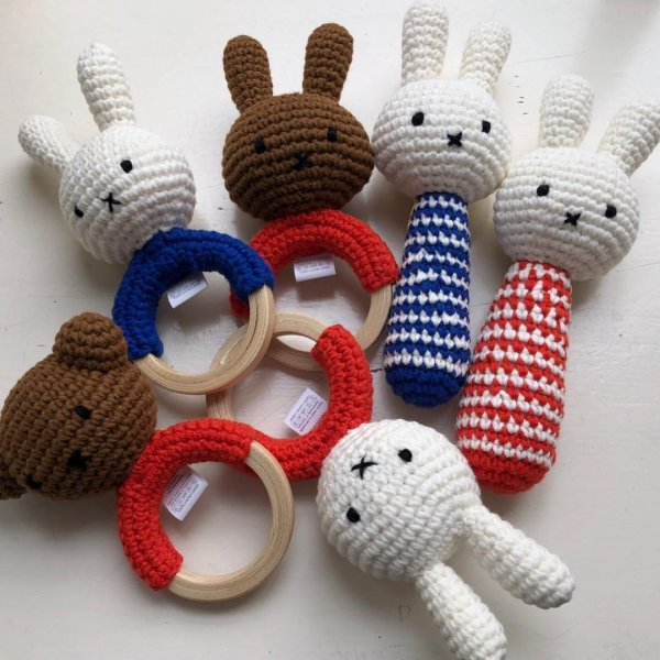 MIFFY handmade rattle