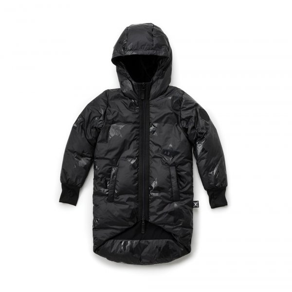 NUNUNU down coat Stars black
