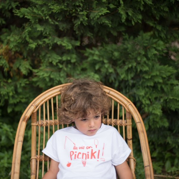 PICNIK BARCELONA t-shirt la vie en picnik