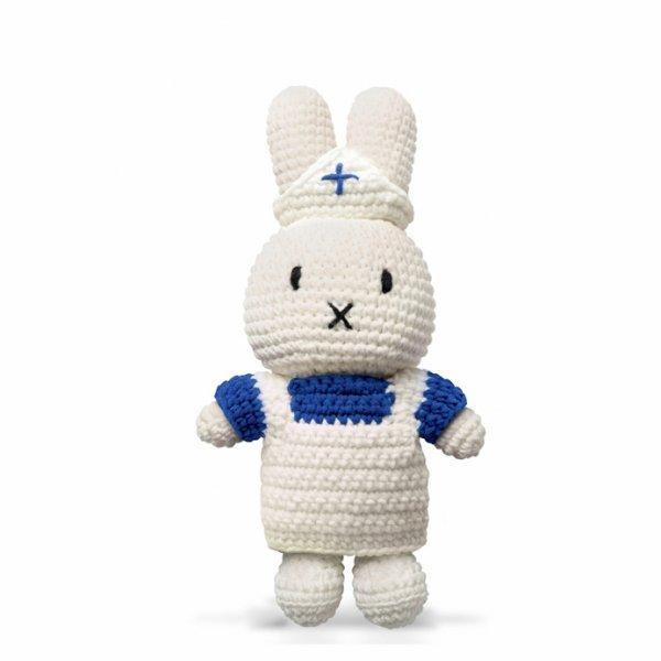 JUST DUTCH handmade white uniform for Miffy