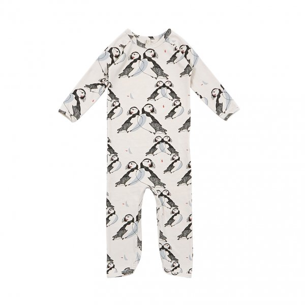 IGLO+INDI comfortable Puffin playsuit