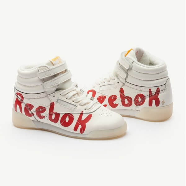 REEBOK Classic x The Animals Observatory Freestyle Hi Red
