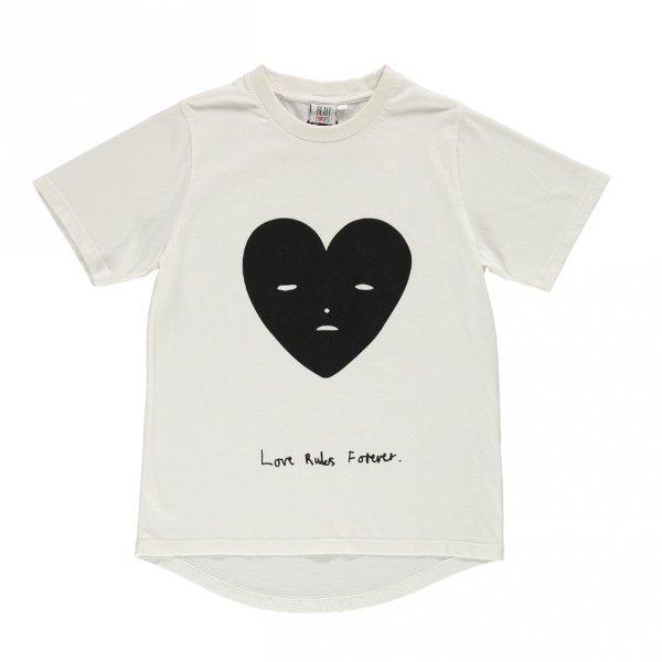 BEAU LOVES fin t-shirt vanilla heart
