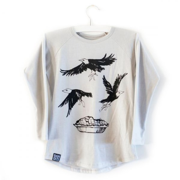 Bandit kids birds t-shirt grau