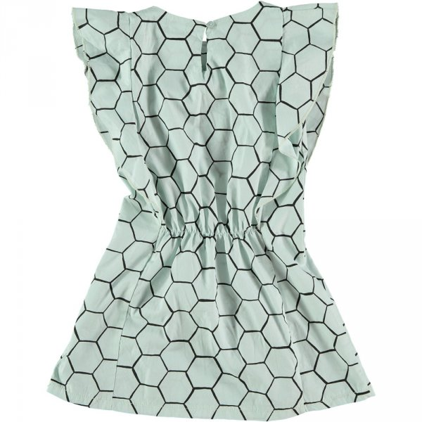 PICNIK BARCELONA ruffled dress bee hive