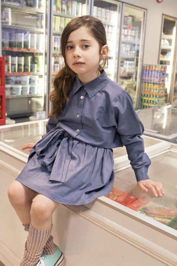 CHRISTINA ROHDE skirt with bow