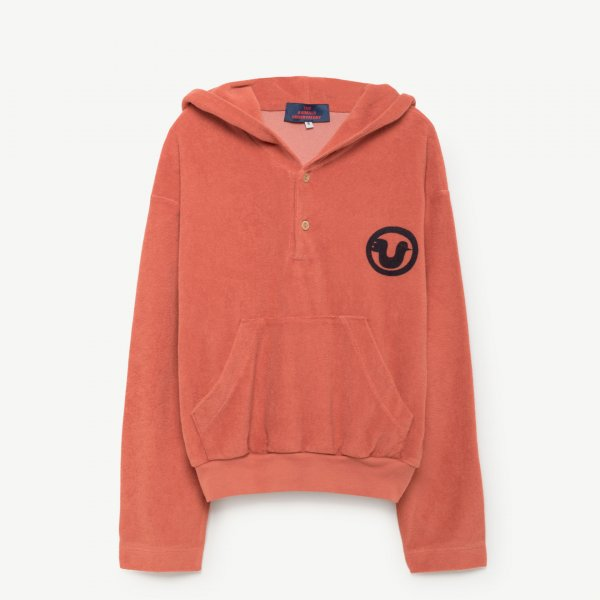 Neu: THE ANIMALS OBSERVATORY Frottee Sweatshirt Albatros