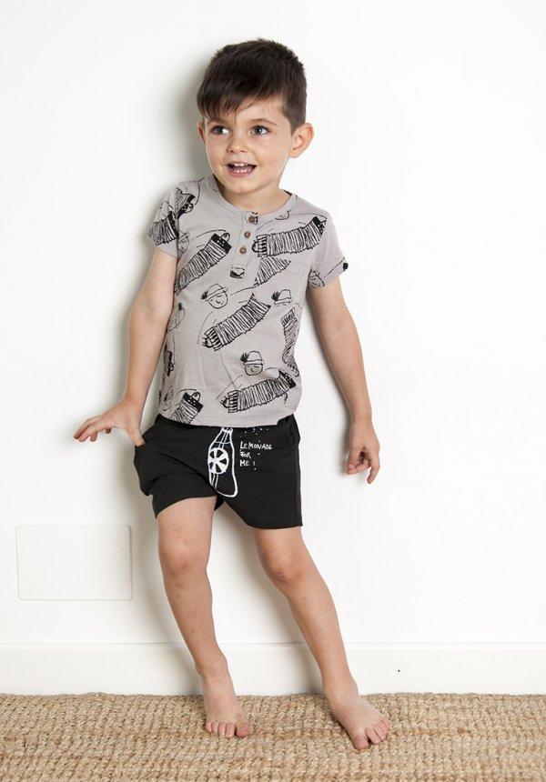 NADADELAZOS buttoned t-shirt Akkordion