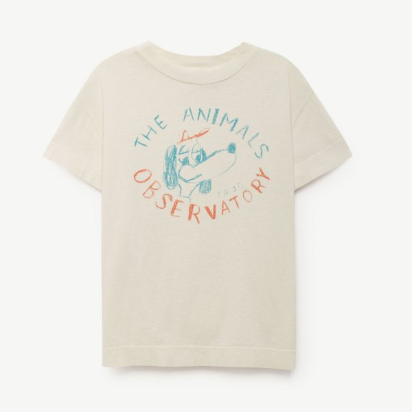 New: THE ANIMALS OBSERVATORY rooster t-shirt Dog