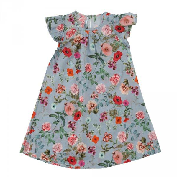 CHRISTINA ROHDE sleeveless flower print dress