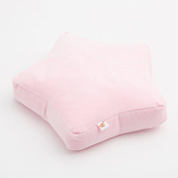 Wigiwama-Bodenkissen-Samt-rosa-Kinderzimmer-kissen