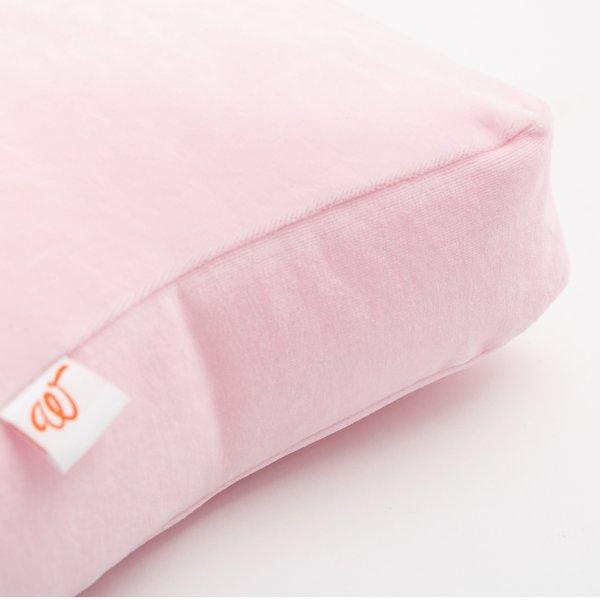 Wigiwama-Bodenkissen-Samt-rosa-Kinderzimmer-detail