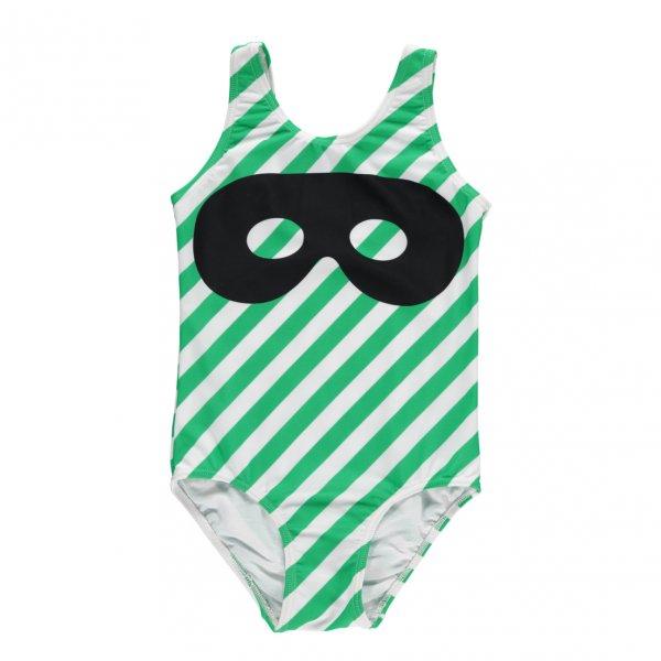 BEAU LOVES Badeanzug mit Streifen & Maske