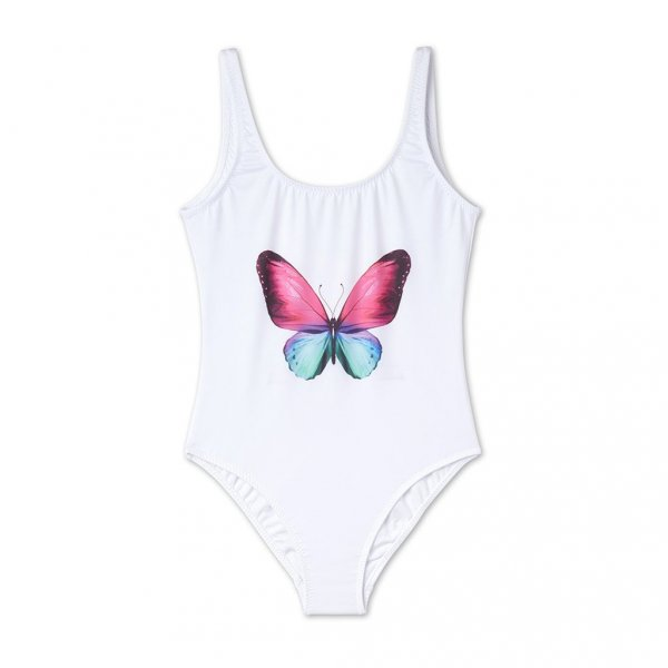 STELLA COVE swimsuit white butterfly