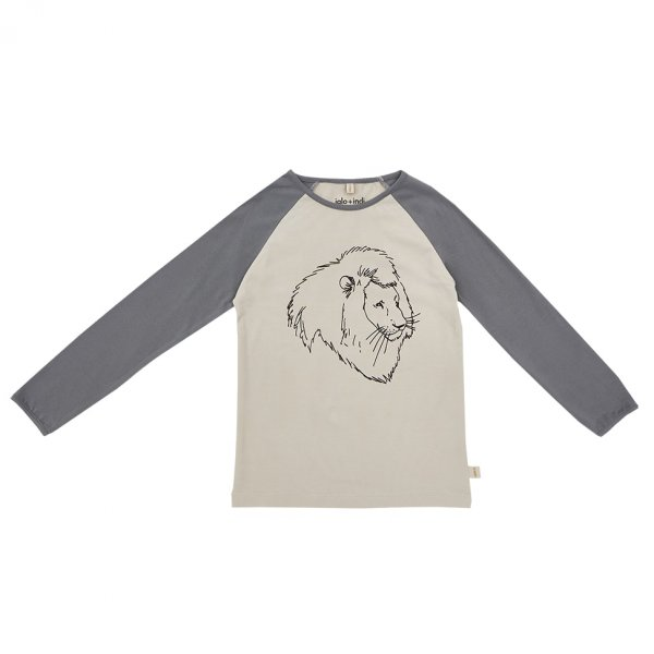IGLO+INDI raglan top Pearl Lion, baseball shirt