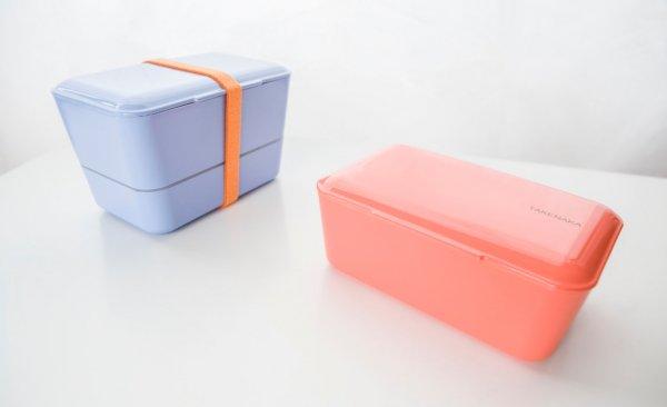 Takenaka Bentobox pastell grau