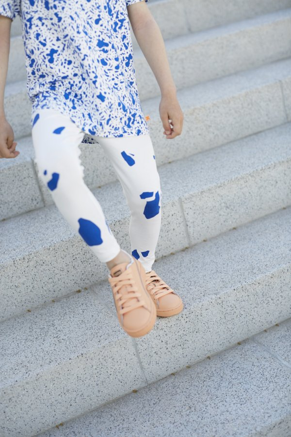 TINYCOTTONS cut outs pants/leggings