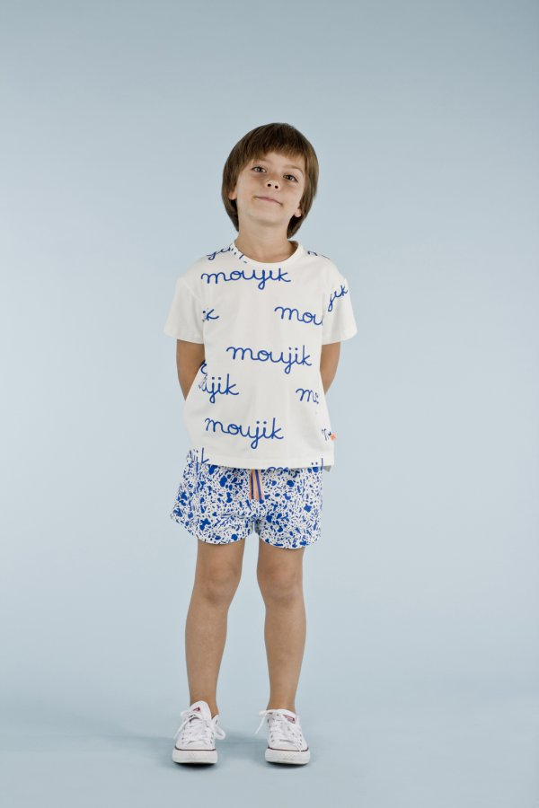 TINYCOTTONS Moujik name oversized t-shirt