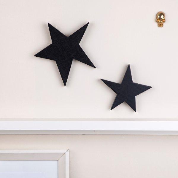 Holz-Stein-dekoration-kinderzimmer-schwarz