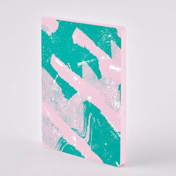 Nuuna Premium Notizbuch Scratched Candy.