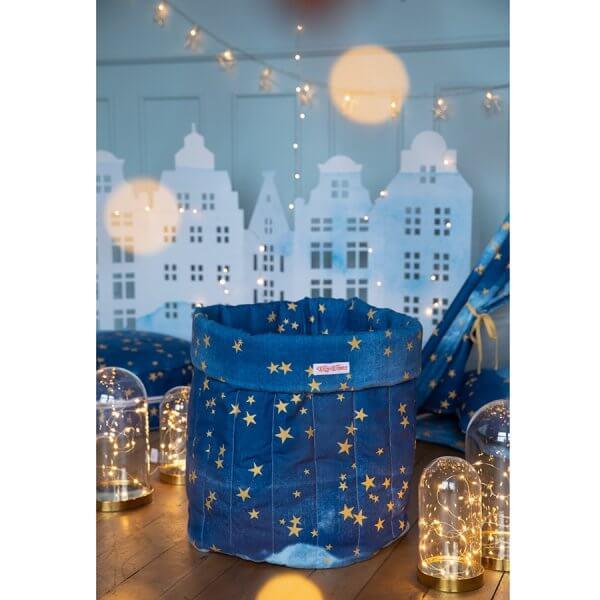 Spielzeugsack-blau-gold-sterne-weihnachten