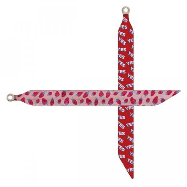 Sorbet Bracelets - eyes & lips pattern