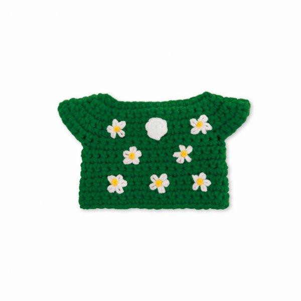 Miffy Strickkleid grün