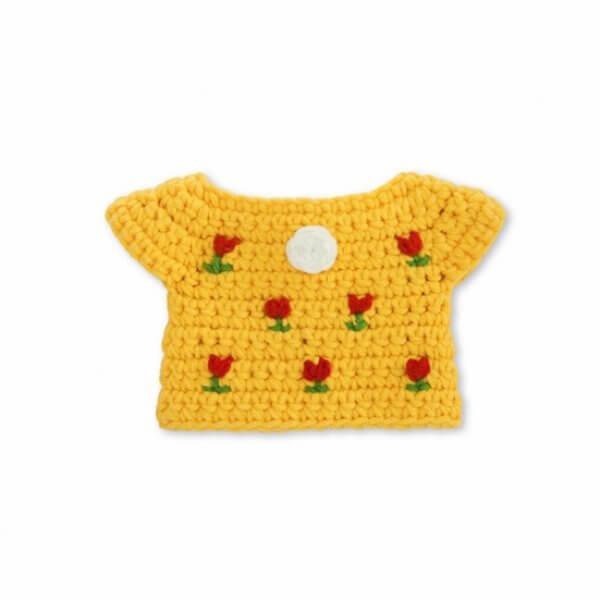 Miffy Strickkleid gelb