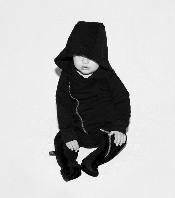 NUNUNU zip footie baby overall toddler