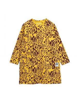 MIni Rodini leopard dress girl