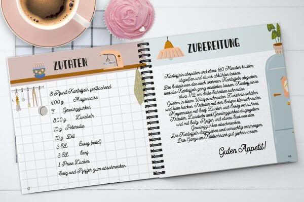 """Rezeptbuch """"Allerliebste Rezepte von Freunden und Familie"""""""