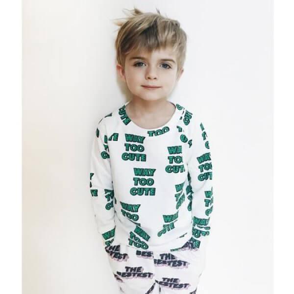 Hugo-loves-tiki-sweatshorts-way-too-cute-junge
