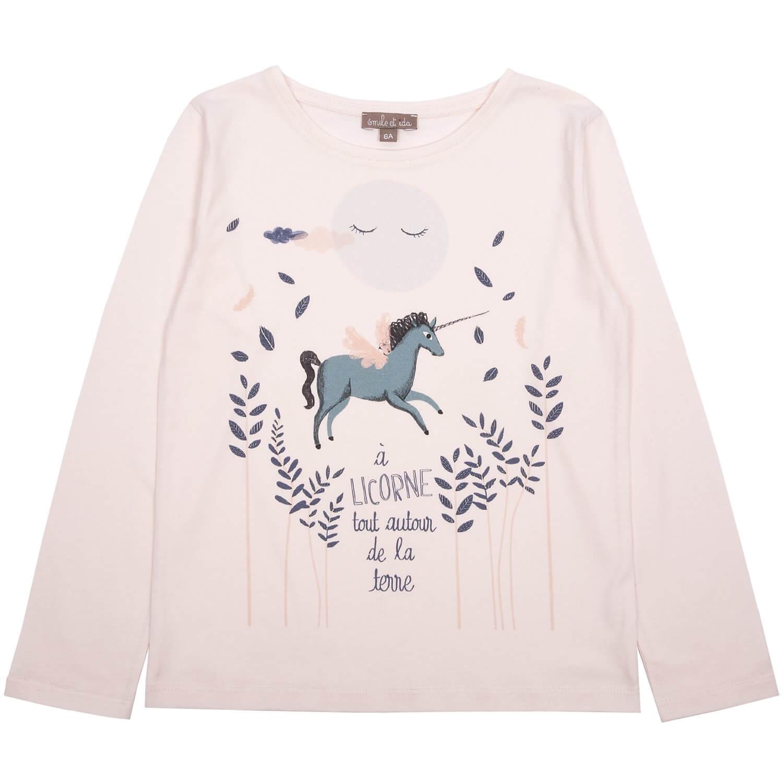 EMILE ET IDA long sleeved t-shirt Unicorn